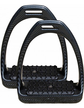Etriers Composit Relex Carbon-Look - Harry's Horse
