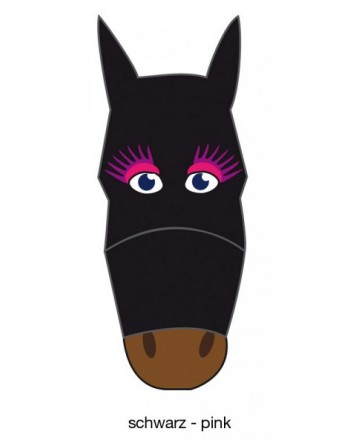Masque anti mouches fly mask